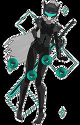 (+123 Watchers Gift) MMD Cyborg-Chan (+DL) by HirotoKawaiii