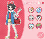 Disney Pokemon trainer : Snow White
