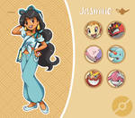 Disney Pokemon trainer : Jasmine