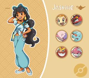Disney Pokemon trainer : Jasmine