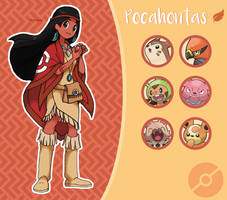 Disney Pokemon trainer : Pocahontas
