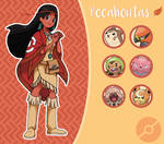 Disney Pokemon trainer : Pocahontas