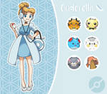 Disney Pokemon trainer : Cinderella