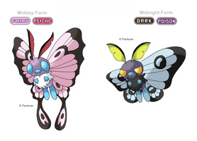 Alola form : Butterfree
