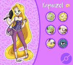 Disney Pokemon trainer : Rapunzel