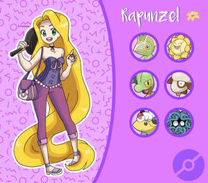 Disney Pokemon trainer : Rapunzel