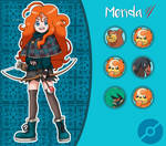 Disney Pokemon trainer : Merida