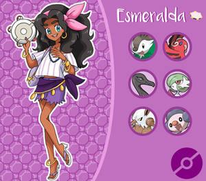 Disney Pokemon trainer : Esmeralda