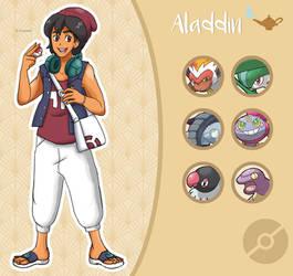 Disney Pokemon trainer : Aladdin