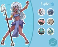 Disney Pokemon trainer : Kida