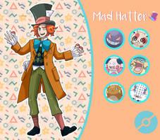 Disney Pokemon trainer : Mad Hatter