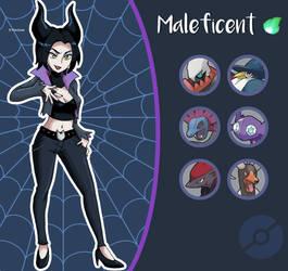 Disney Pokemon trainer : Maleficent