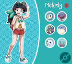Disney Pokemon trainer : Melody