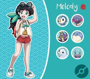 Disney Pokemon trainer : Melody
