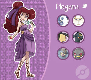 Disney Pokemon trainer : Megara