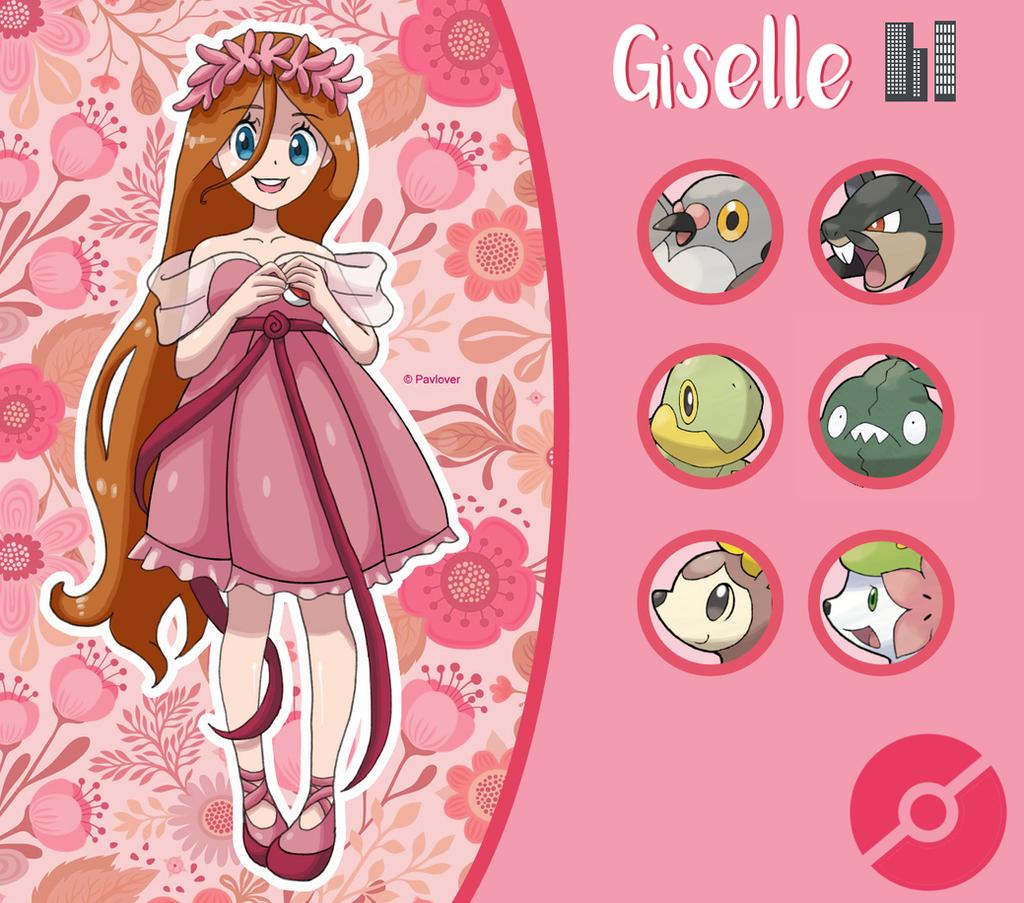 Disney Pokemon trainer : Giselle by Pavlover