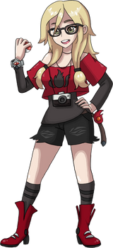 Commission : fang639 as a Pokemon trainer