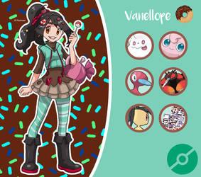 Disney Pokemon trainer : Vanellope by Pavlover