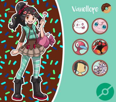 Disney Pokemon trainer : Vanellope