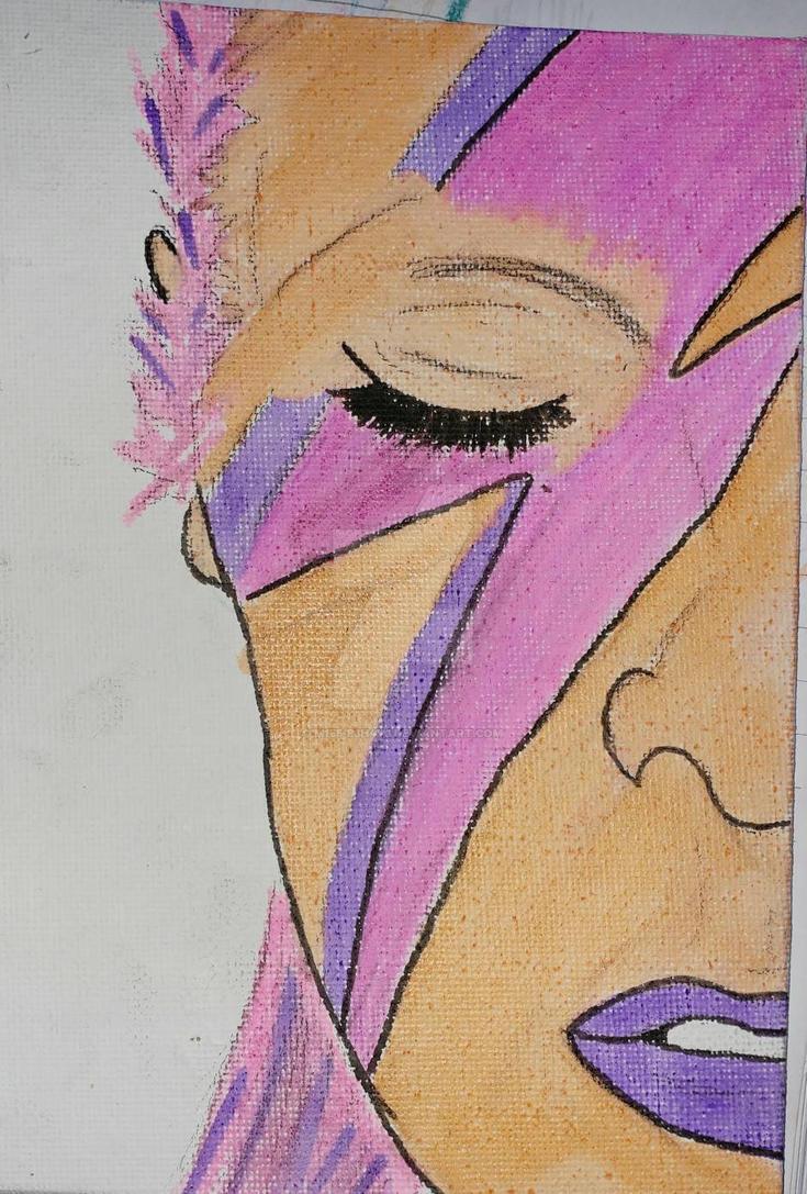 David Bowie by M155-B3h4v3