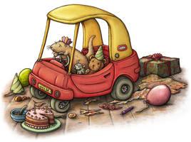 Otter Car by samuel123