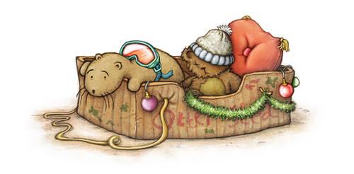 Christmas Sledge by samuel123