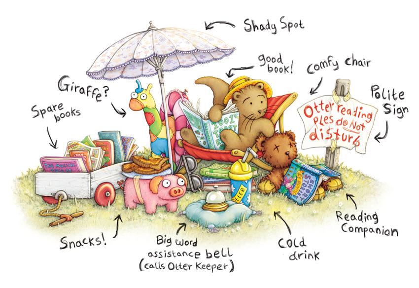 Otter Summer Reading Instructions by samuel123