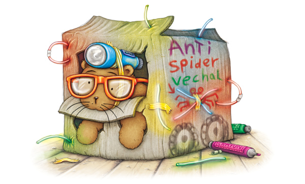 Anti-Spider Protection Vehicle by samuel123