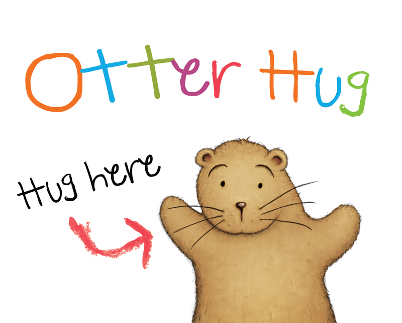 Otter Hug by samuel123