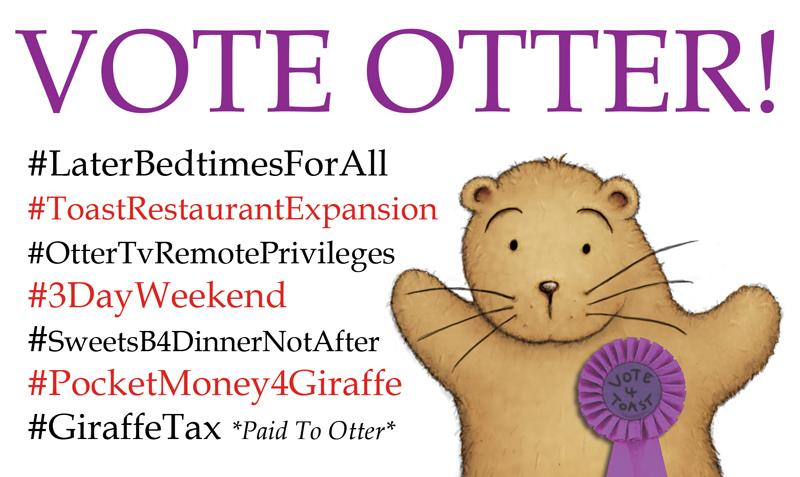 Otter for Prime Minister by samuel123