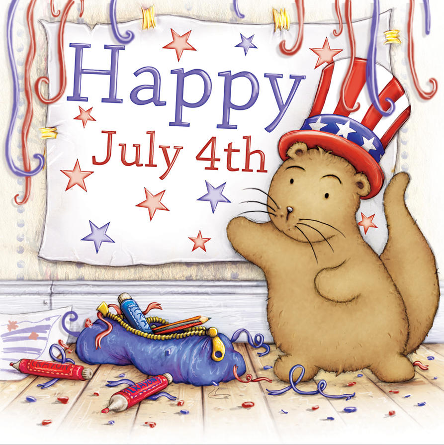 Happy July 4th From Otter by samuel123