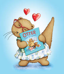 'Otter Goes To School' Is Out Today by samuel123