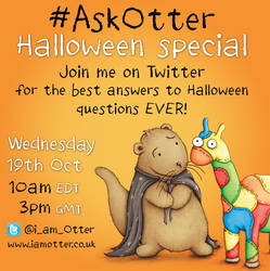 Ask Otter Halloween Special by samuel123