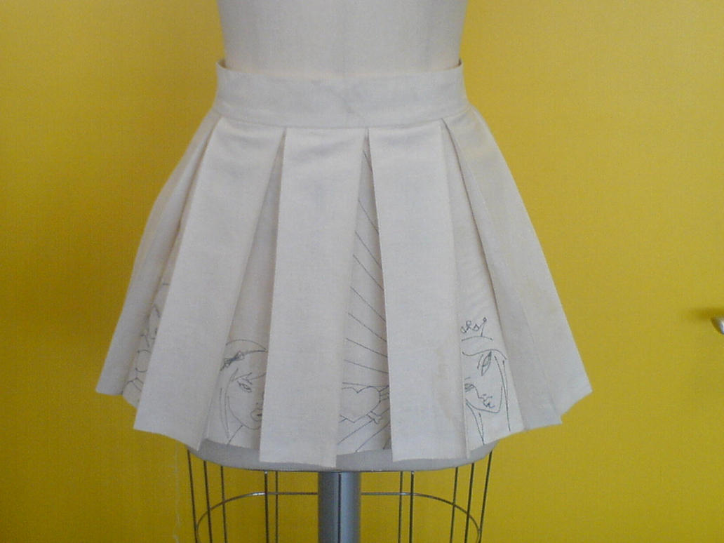 box pleated skirt by sainte etique on deviantart