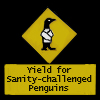 Sanity-challenged Penguins by EnigmaticPenguin