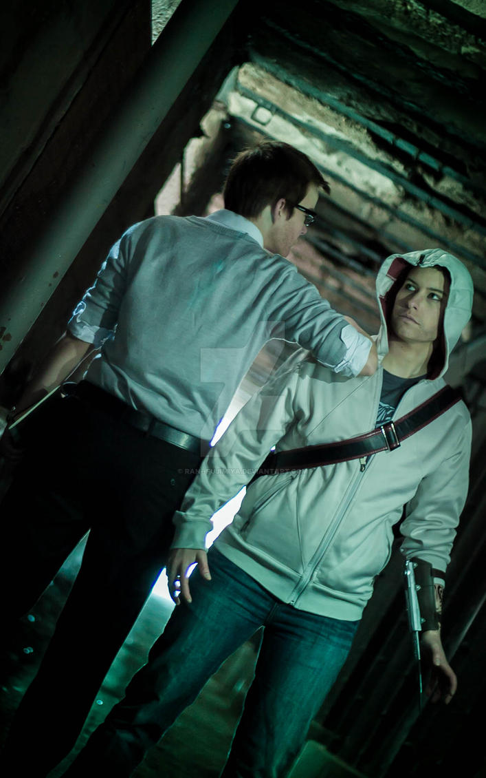 Shaun Hastings and Desmond Miles by ran--fujimiya
