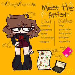 i stg im not actually this thicc .Meet the artist.