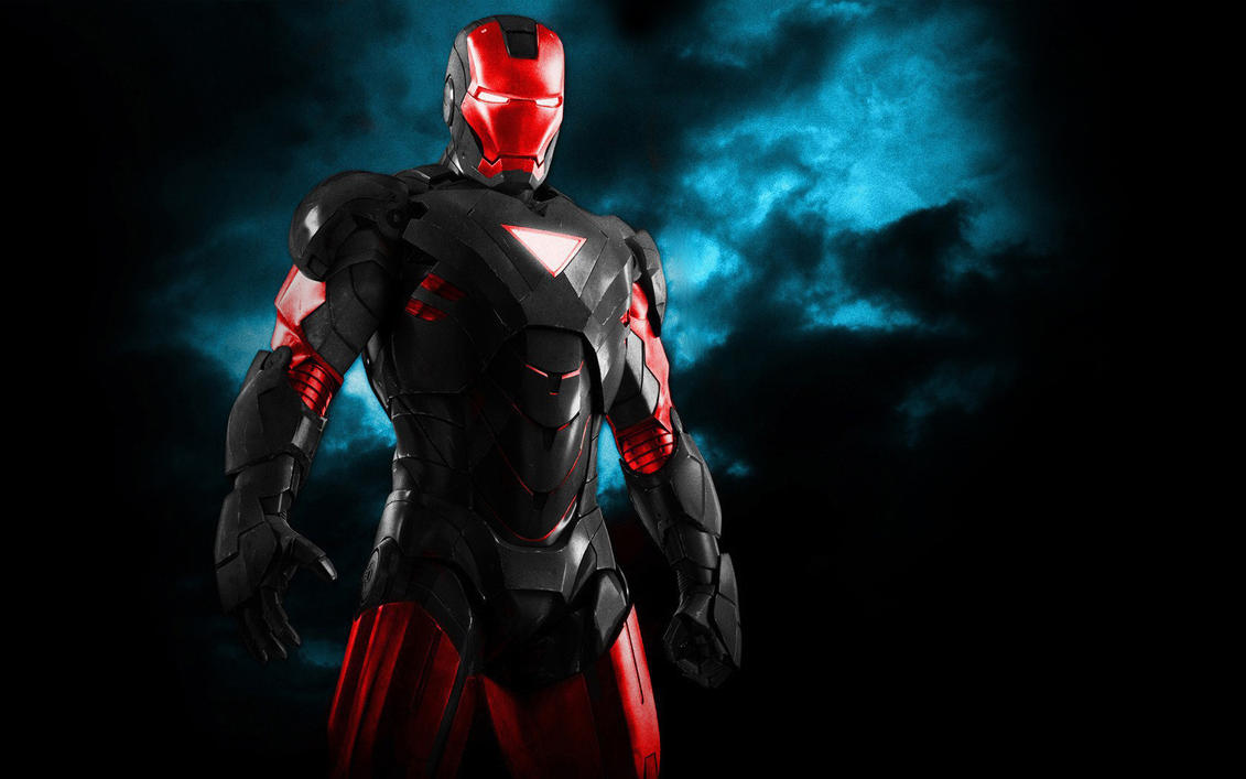 iron man color mix black+red666darks on deviantart