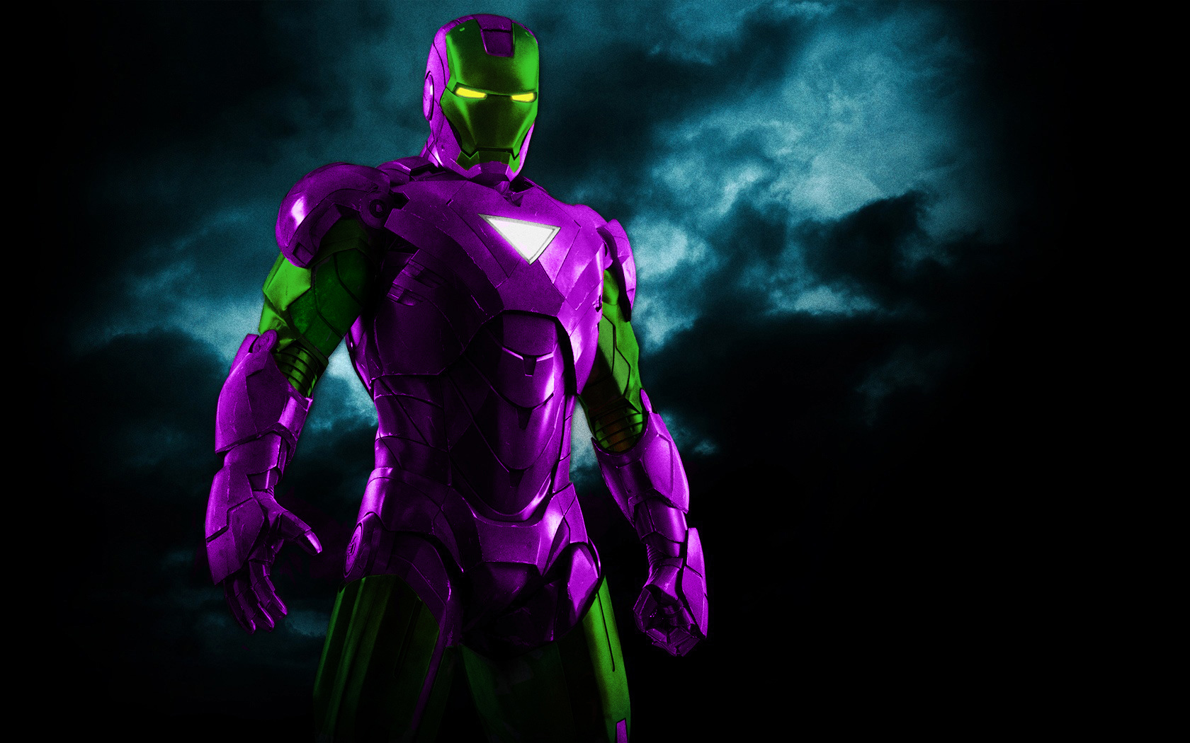 Green Iron Goblin Man by 666Darks