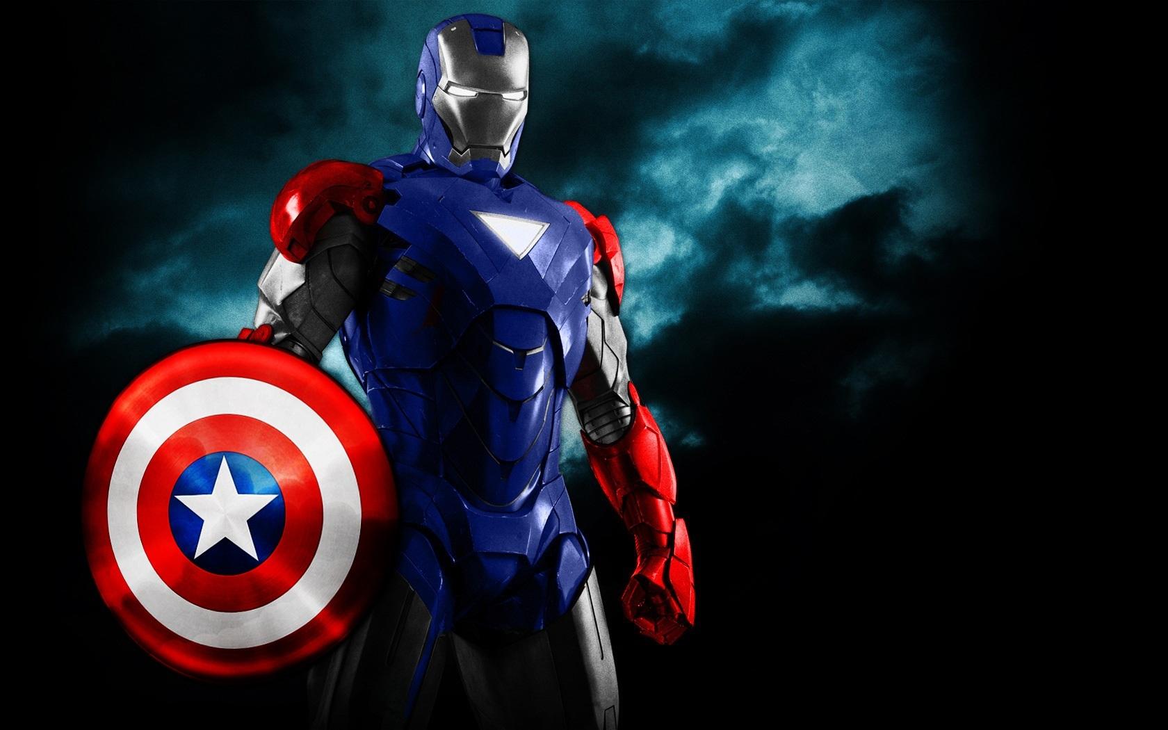 Iron Man Captain America Armor by 666Darks