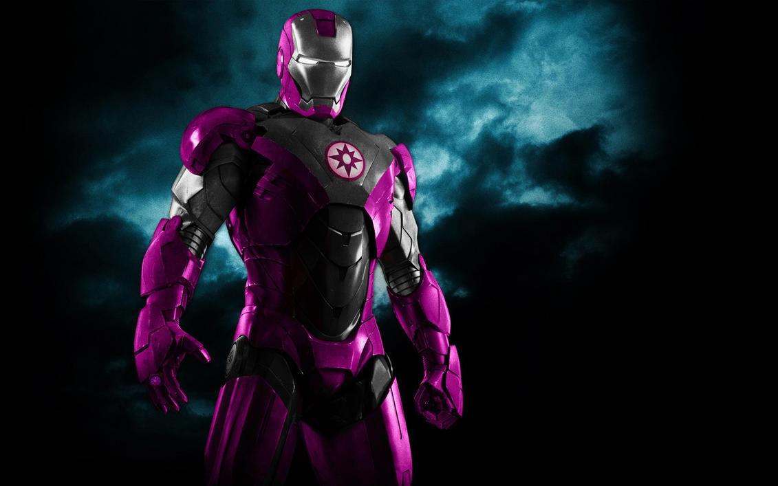 Iron Man Saphire Lantern Armor by 666Darks