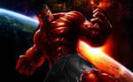 Red Lantern Hulk