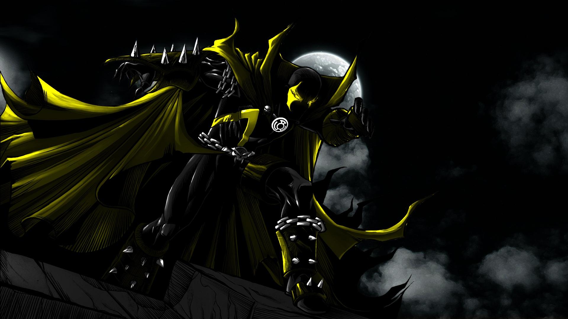 yellow lantern black - photo #27