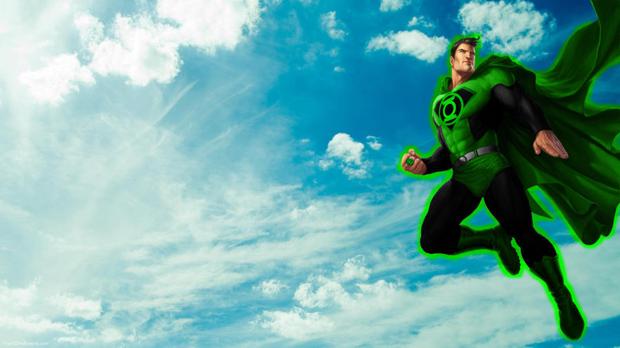 Green Lantern Superman by 666Darks