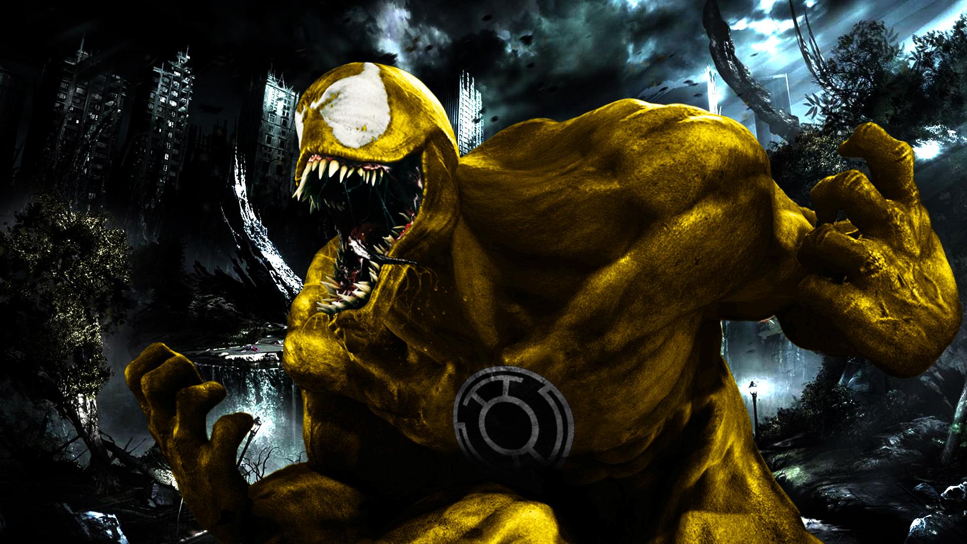 yellow lantern black -#main