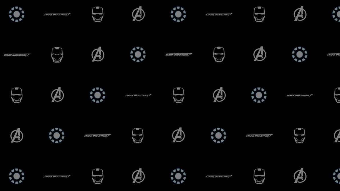 Iron Man Logo Wallpaper By 666Darks