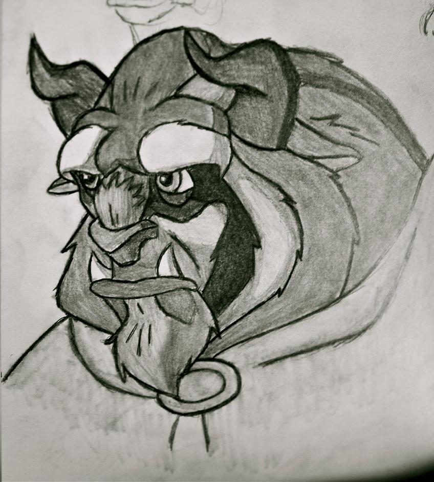 Beast Sketch by Arnumdrusk on DeviantArt