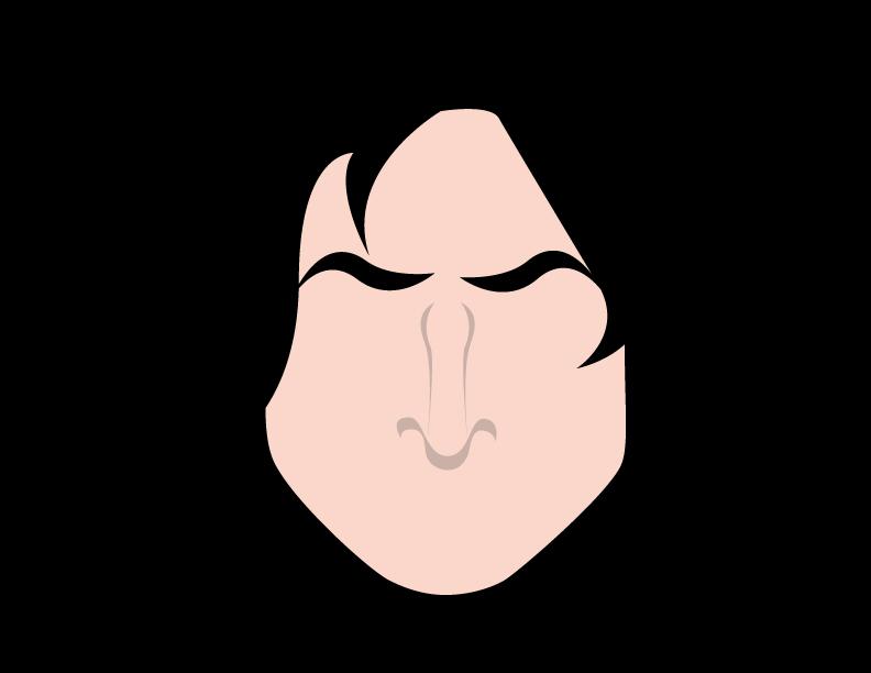 Severus Snape -minimal- by Arnumdrusk
