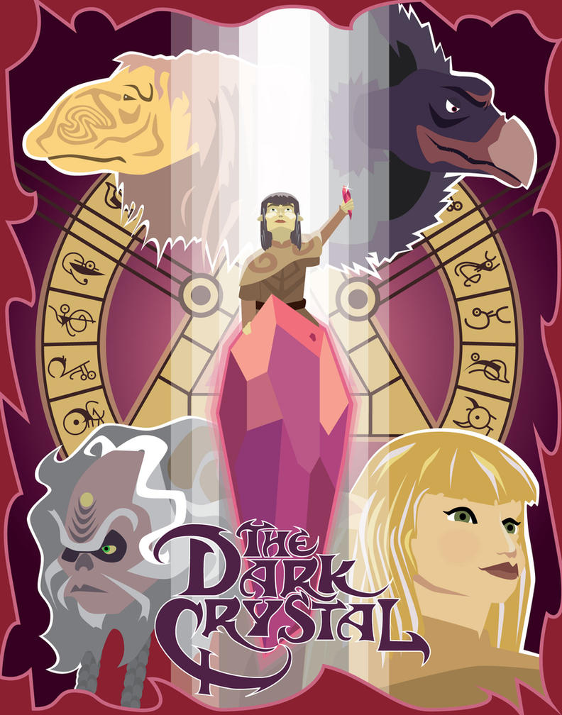 Dark Crystal Poster by Arnumdrusk