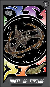 Trek Tarot - Wheel of Fortune by Arnumdrusk